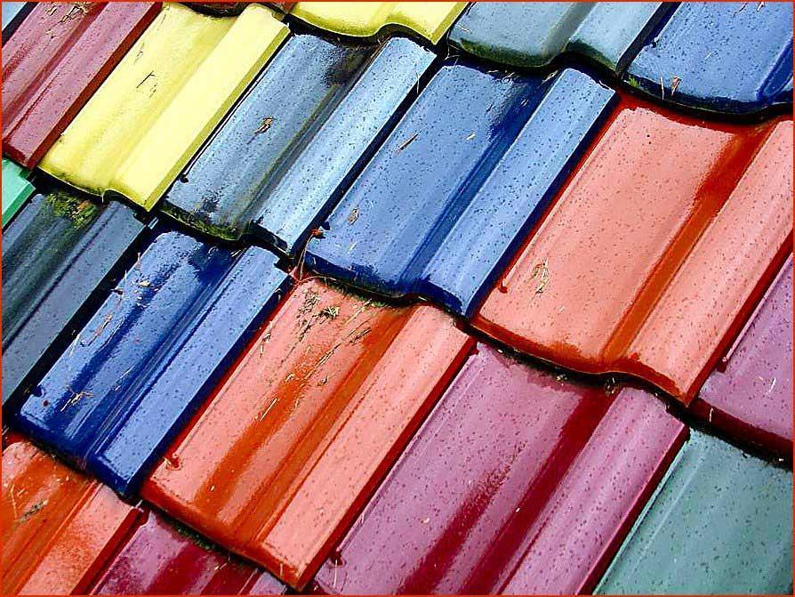 Matériaux de construction pour toitures et couvertures de toit
