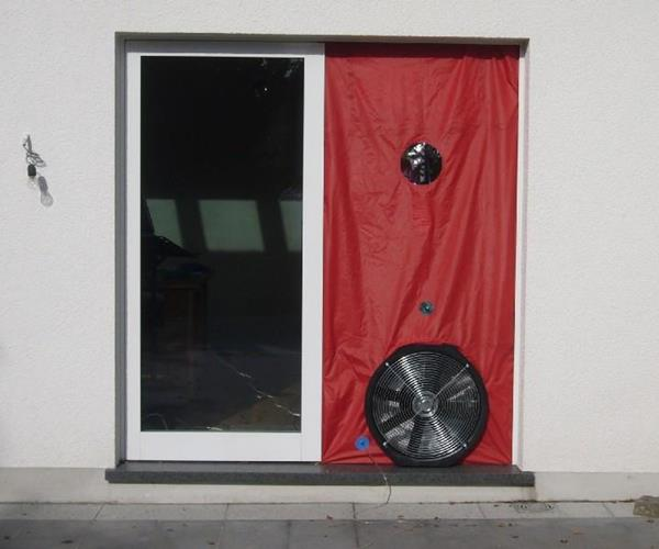 BlowerDoor-Messung - Leistungen & Know-How